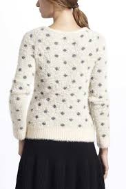 dotted wolly sweater1
